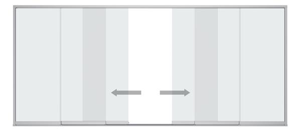 Detail Schieb-System Sunflex