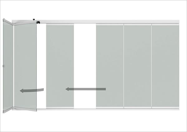 Details Alu-Glas-Schiebe-Systeme