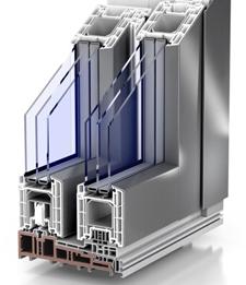 Hebe-Schiebe-Fenster Alu-Kunststoff | Fenster Schilling