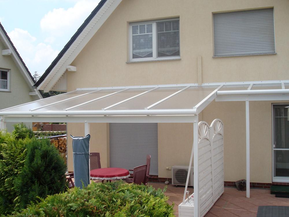 Glasüberdachung für Terrasse | Fenster Schilling