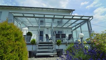 Portal Überdachung Terrasse